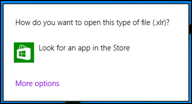 no known app to open specific icon file