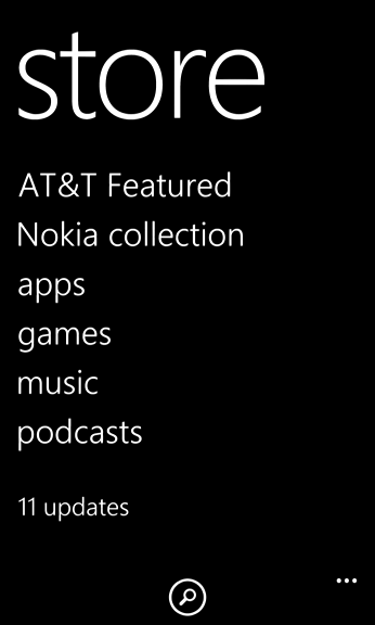 windows app store - updates available