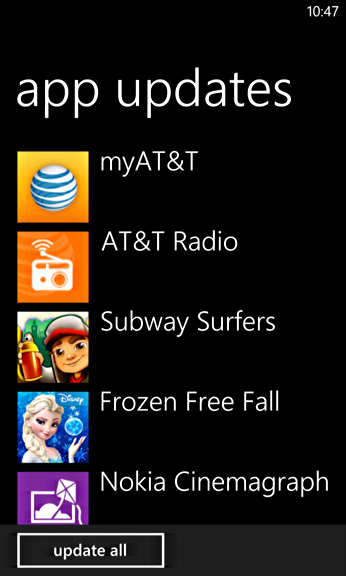 apps ready to update nokia lumia 1020