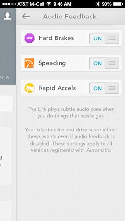 disable audio feedback