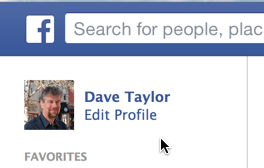 edit your facebook fb profile