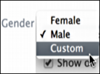 facebook gender pronoun