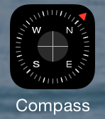 iOS 7 Compass app icon