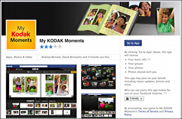 Create a photo book with My Kodak Moments on Facebook? - Ask Dave Taylor