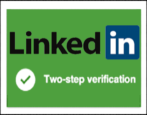 linkedin 2-step verification turn on security privacy