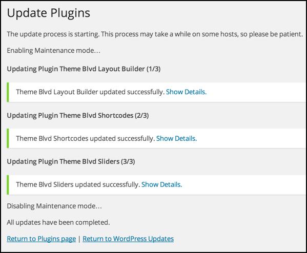 everything updated plugins wordpress wp