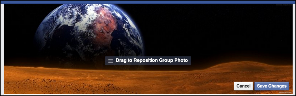 reposition personalization group image photo fb