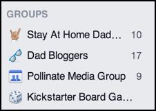 groups with activity on facebook