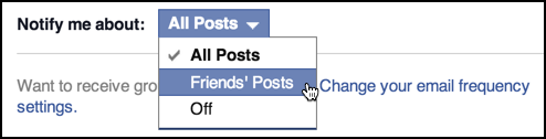 fb group notification settings
