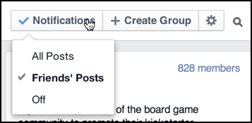 how to change what appears on your facebook group page