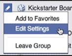 change facebook group notification settings