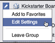 change facebook group notification settings