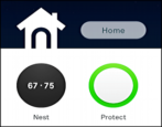 nest protect and nest thermostat web interface