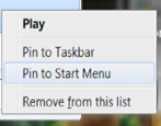 pin program to windows 7 win7 start menu
