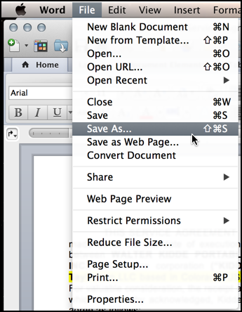 Easiest way to Save a Word Doc as PDF on a Mac? - Ask Dave Taylor