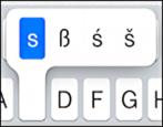 """letter """"s"""" variants"""