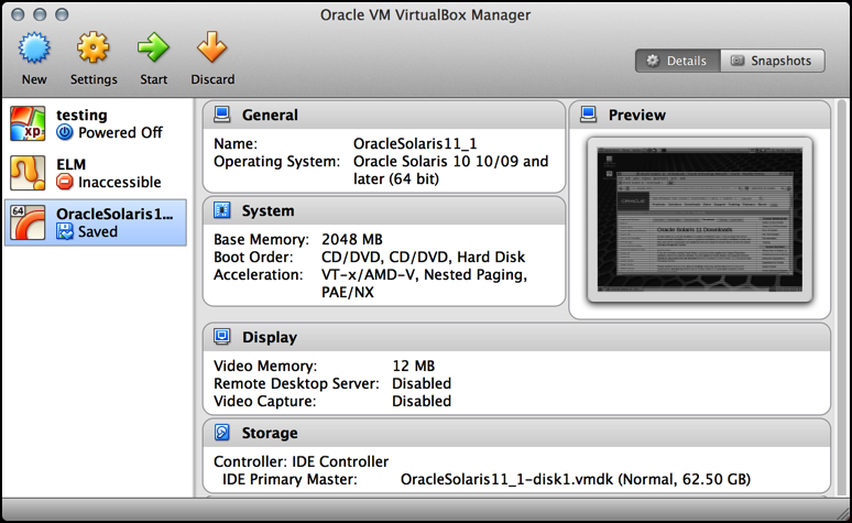 virtualbox from sun / oracle