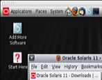 oracle/solaris 11 running on a Mac system Windows virtualbox
