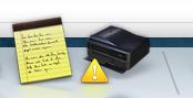 Epson printer low on ink warning, Mac os x