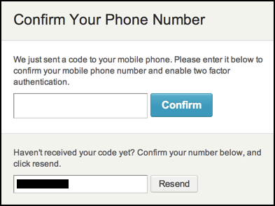 etsy prompting for two-factor authentication code from smartphone
