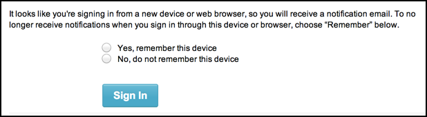is this a trusted device for accessing etsy?