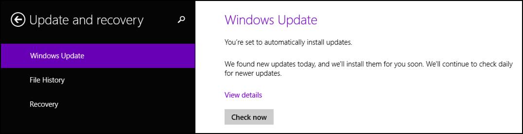 force windows update