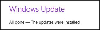 congrats, windows 8.1 has been updated for the latest security problem