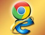 chrome vs internet explorer msie