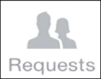 send a facebook friend request from your iPhone or iOs mobile cell phone