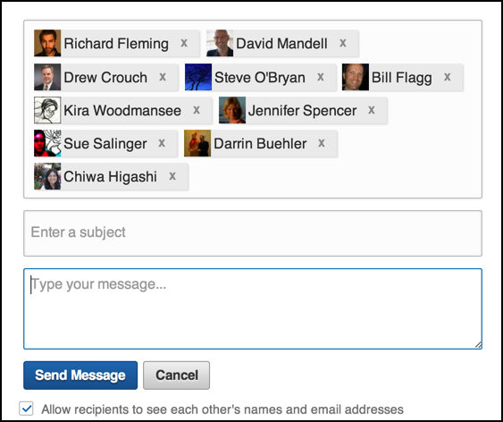 how to delete a sent message on linkedin