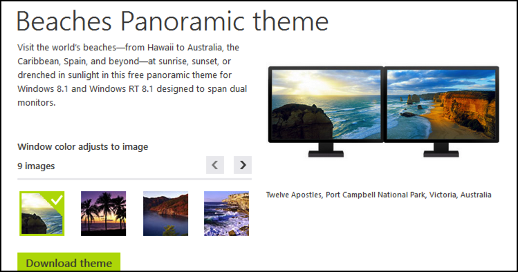 win8 download theme beaches wallpaper collection details