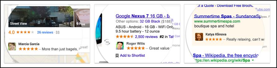 sample google shared endorsements adverts adwords advertisements
