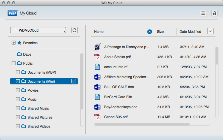 Review: Western Digital MyCloud network storage - Ask Dave Taylor