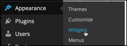 wordpress appearance plugins