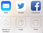how to print to an airprint printer from an apple iphone or ipad