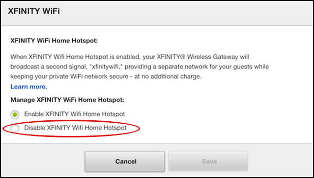 Xfinity Wifi Login >> Disable Comcast Xfinity Public Home Wifi Hotspot? - Ask Dave Taylor