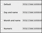 how to change the permalinks urls on your wordpress blog
