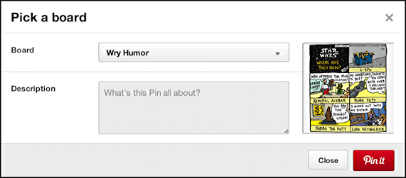 add a caption to your pinterest upload