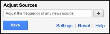 customize gnews settings
