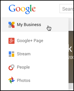 find your custom URL in Google+