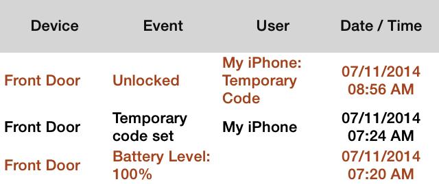 Add Schlage Touchscreen Deadbolt Code Via The Iphone Nexia App
