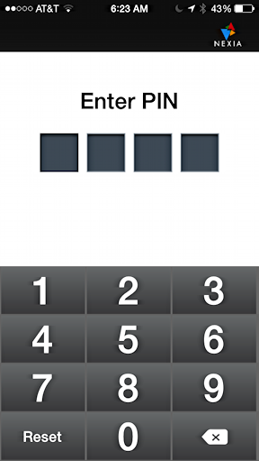 Add Schlage Touchscreen Deadbolt Code Via The Iphone Nexia App
