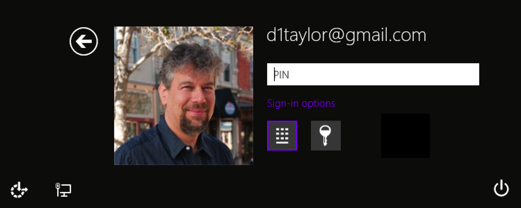 login screen options win8.1