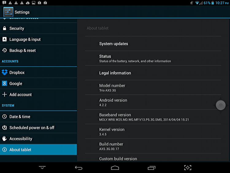 force an android system update