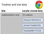 delete remove cookies google chrome mac apple