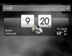 set weather widget location android tablet