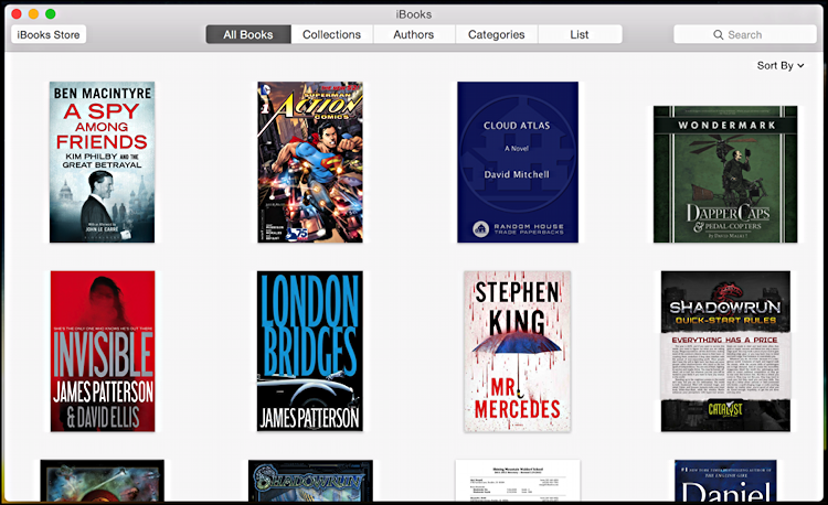 ibooks on mac os x