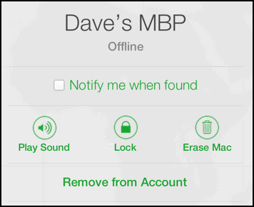 erase media remotely through find my iphone