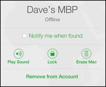 erase media remotely through find my iphone