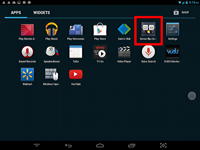 find your app on the list of all apps in android google play